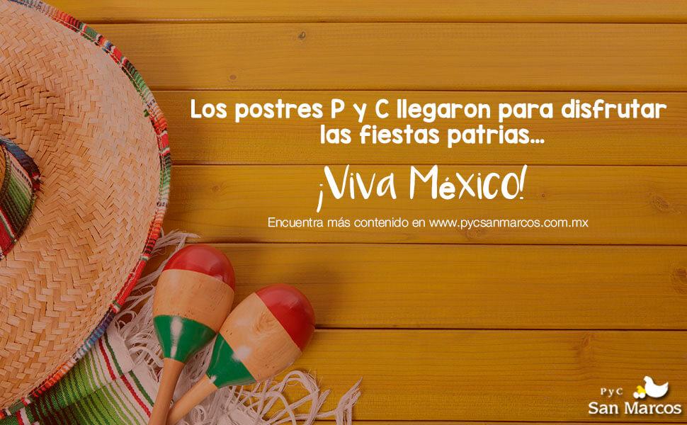 Postres para fiestas mexicanas